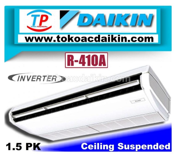 1.5 pk ceiling suspended invertrer