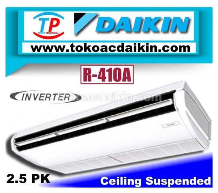 2.5 pk ceiling suspended invertrer