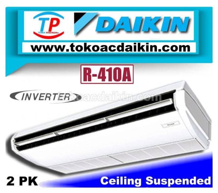 2 pk ceiling suspended invertrer