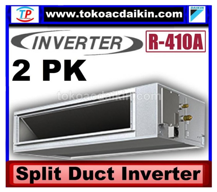 2 pk split duct inverter