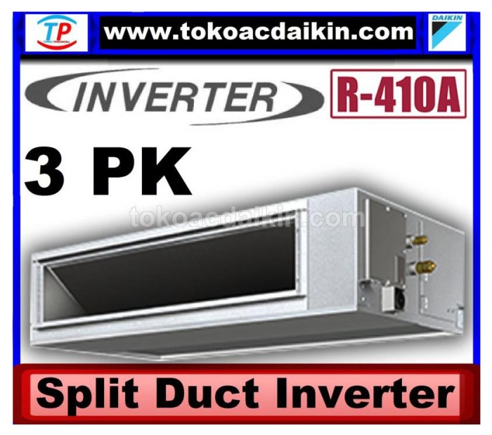 3  pk split duct inverter