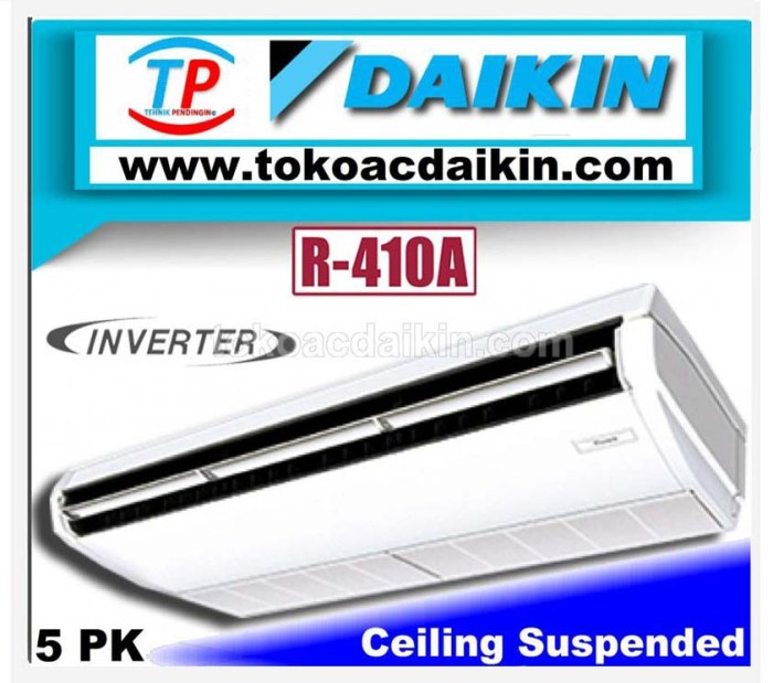 5 pk ceiling suspended inverter