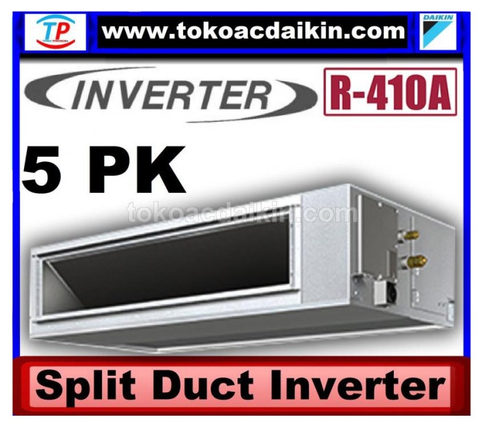 5 pk split duct inverter