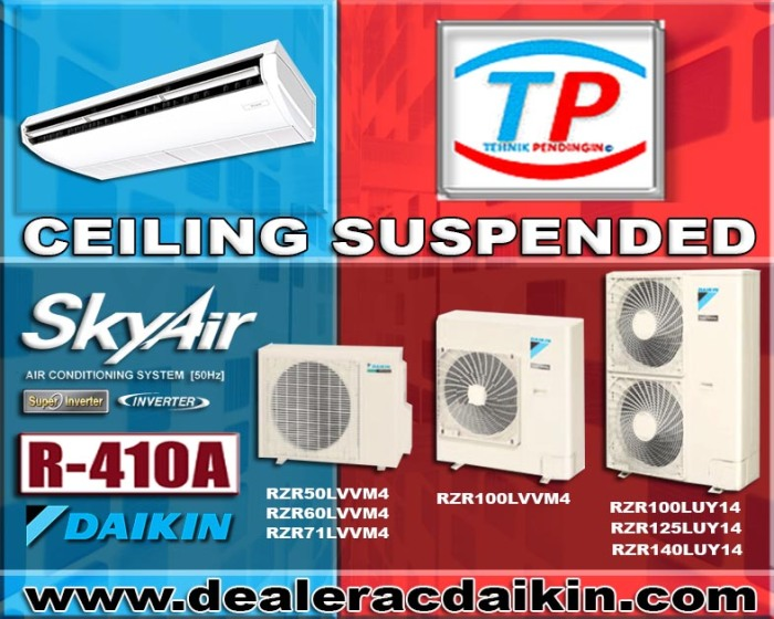 CEILING SUSPENDED INVERTER