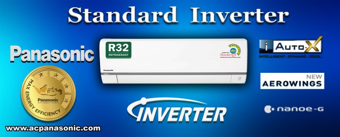 ac split panasonic standard inverter