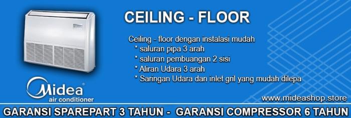 AC CEILING-FLOOR MIDEA