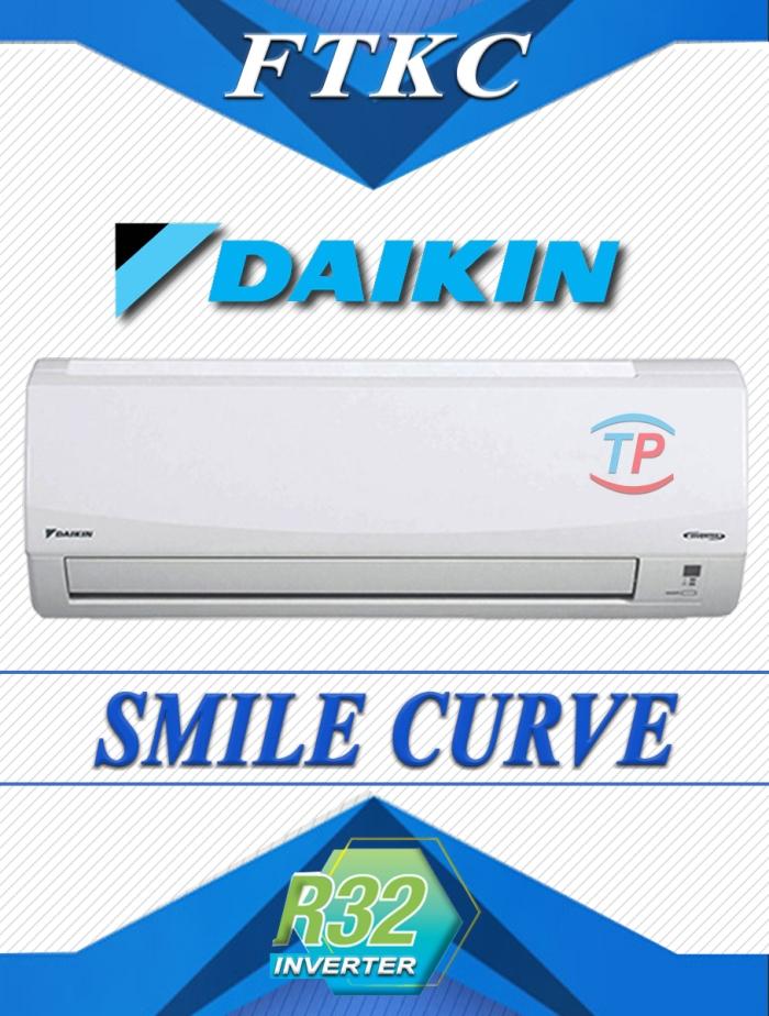 ac split daikin smile curve tp